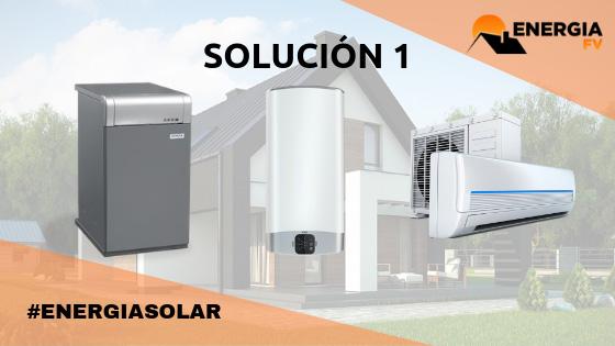 instalacion aerotermina y paneles solares
