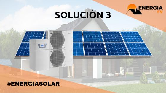 instalacion Aerotermia e instalación solar fotovoltaica
