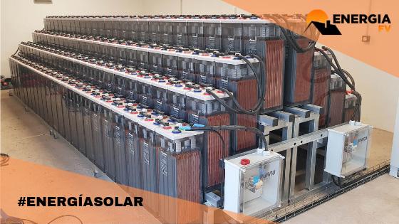 baterias instalacion fotovoltaica