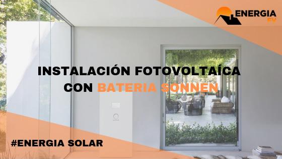 Ejemplo instalación fotovoltaica para vivienda unifamiliar en Madrid