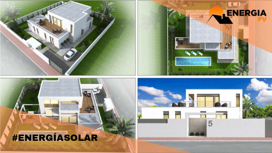 instalacion fotovoltaica en vivienda unifamiliar en madrid