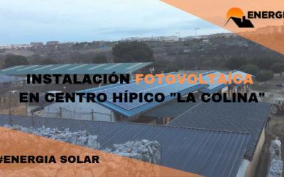 Instalación solar aislada de red en Centro Hípico (Madrid)