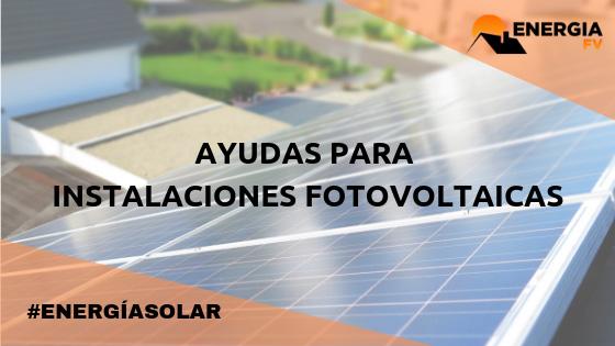 subvenciones aragon instalaciones fotovoltaicas